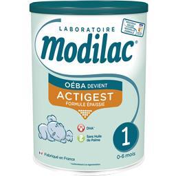 Lait en poudre Actigest 1, de 0-6 mois