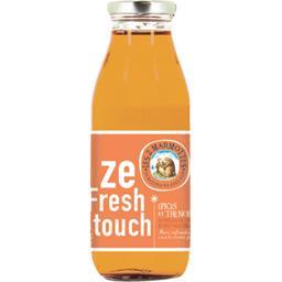 Les 2 marmottes Ze Fresh Touch - Boisson épices thé noir et agrumes la bouteille de 50 cl