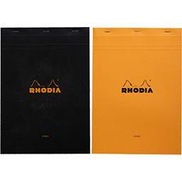 Rhodia Bloc non perforé 210x297 2 couleurs assorties