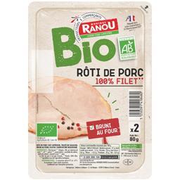 Rôti de porc BIO 100% filet