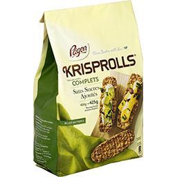 Krisprolls Krisprolls Petits pains suédois complets sans sucres ajoutés le paquet de 425g
