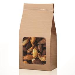 Amandes et noix de cajou au paprika BIO en VRAC