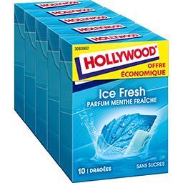 Chewing gum Ice Fresh parfum menthe fraîche sans suc...