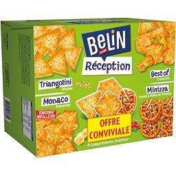 Crackers assortis Réception