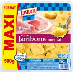 Ravioli jambon emmental