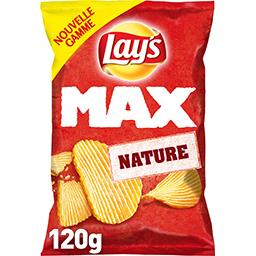 Lay's Lay's Max - Chips nature le sachet de 120 g