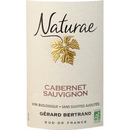 Vin de Pays d'Oc Cabernet Sauvignon Naturae BIO, vin rouge