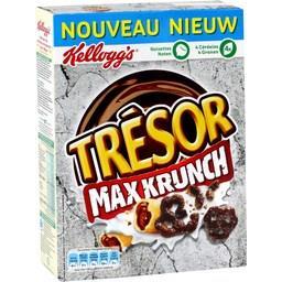 Trésor - Céréales Max Krunch chocolat noisettes