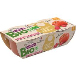 Purée pomme framboise BIO, dès 6 mois