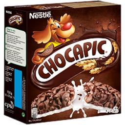 Nestlé Nestlé Céréales Chocapic - Barres de céréales au chocolat les 6 barres de 25 g