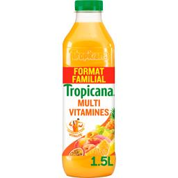 Tropicana Tropicana Jus de fruits Multivitamines la bouteille 1,5 l