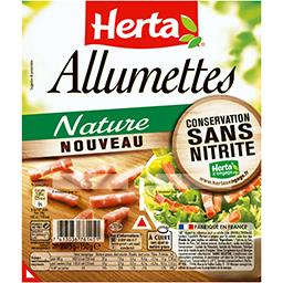 Herta Herta Allumettes nature les 2 barquettes de 75 g