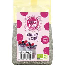 Happy Bio Happy bio Graines de chia BIO le sachet de 250 g