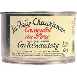 Cassoulet au porc de Castelnaudary