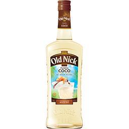 Old Nick Old Nick Punch coco au rhum blanc la bouteille de 70 cl