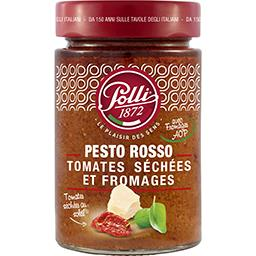 Polli Polli Pesto Rosso tomates séchées et fromages le pot de 190 g