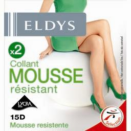 Collants mousse résistant noir T1