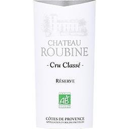 Côtes de Provence – Cru Classé Château Roubine vin Blanc sec 2017