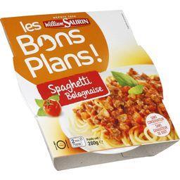 Les Bons Plans Spaghettis Bolognaise