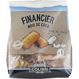 Financier noix de coco