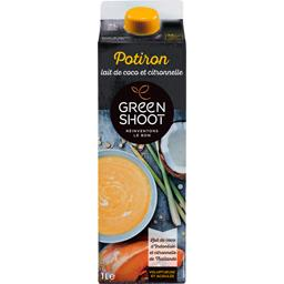 Green Shoot Green Shoot Soupe potiron lait de coco & citronnelle la brique de 1 l