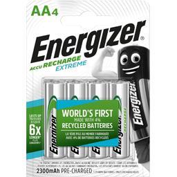 Piles Accu recharge extrême AA HR6 2300 mAh