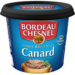 Bordeau Chesnel Bordeau Chesnel Fines rillettes de canard le pot de 220 g