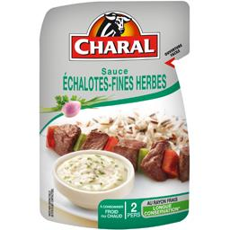 Charal Sauce échalotes fines herbes