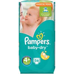 Couches Baby-dry, taille 4+ : 9-20 kg