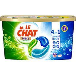 Le Chat L'Expert - Discs de lessive liquide 4 en 1