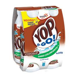 Yop & Go - Yaourt à boire parfum chocolat