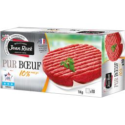 Steak haché pur bœuf 10% MG