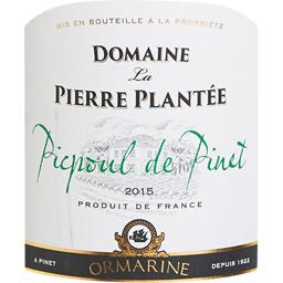 Picpoul de Pinet 2015, vin blanc sec