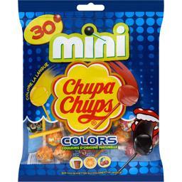 Sucettes Mini Colors goût assortis