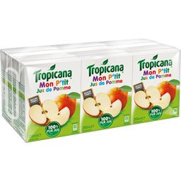 Tropicana Mon P'tit Jus de Pomme les 6 briques de 200 ml