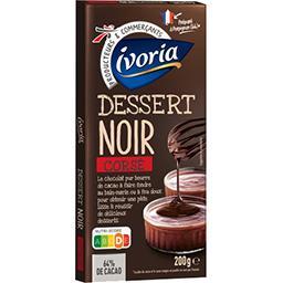 Dessert chocolat noir corsé