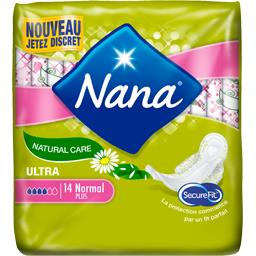 Nana Serviettes ultra normal plus natural care