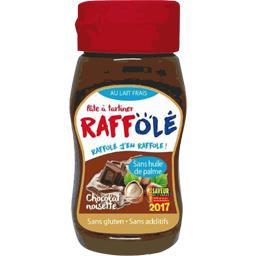 Raffolé Pâte à tartiner chocolat noisette le flacon de 370 g