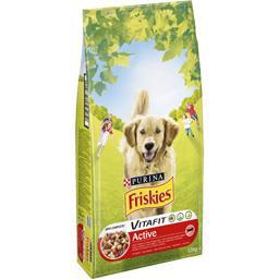 Croquettes Vitafit Active au bœuf pour chiens adulte...