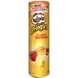 Pringles Biscuits apéritif Classic paprika le boite de 210 g
