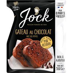 Jock Gâteau au chocolat avec des pépites le paquet de 550 g