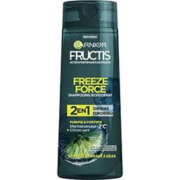Garnier Fructis Freeze Force - Shampooing revigorant 2 en 1 citron vert le flacon de 250 ml