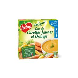 Pur'Soup - Duo de carottes jaunes et orange