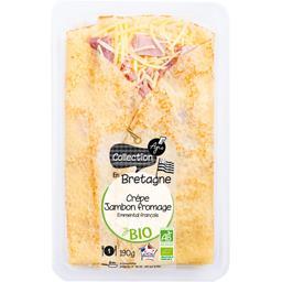 Crêpe jambon fromage BIO