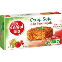 Céréal Bio Céréal Bio Croq'soja à la provençale BIO les 2 galettes de 100 g