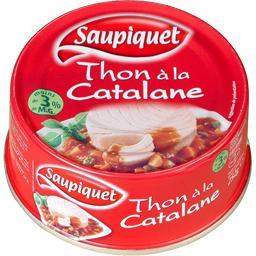 Saupiquet Saupiquet Thon à la catalane la boite de 252 g