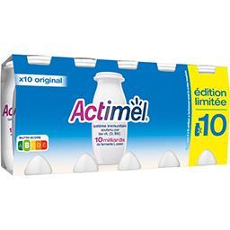 Actimel Danone Actimel - Lait fermenté à boire Original les 10 bouteilles de 100 g