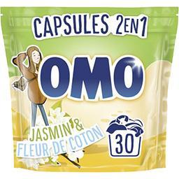 Omo Omo Capsules de lessive 2en1 Lilas blanc le sachet de 30 capsules - 723 g