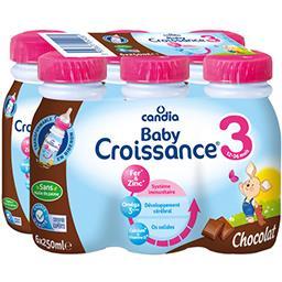 Baby - Lait de suite liquide 3 chocolat, de 10 mois ...