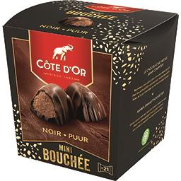 Côte d'Or Mini bouchée noir truffé la boite de 158 g